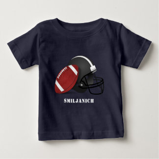 Football and Helmet Baby T-Shirt