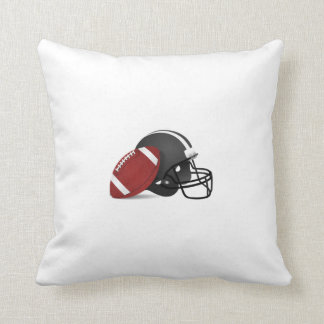 Football and Helmet Cushion