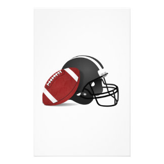 Football and Helmet Stationery