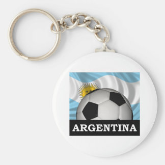 Football Argentina Key Ring
