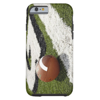 Football at goal line on football field, tough iPhone 6 case