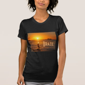 Football at sunset T-Shirt