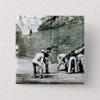 Football at the Wall at Eton 15 Cm Square Badge