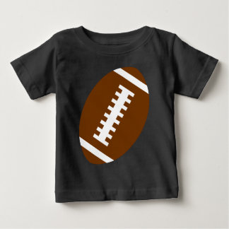 FOOTBALL BABY Black   Front Football Graphic T-shirt