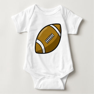 football baby bodysuit