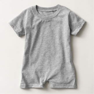 FOOTBALL BABY Gray | Front Football Graphic Baby Bodysuit