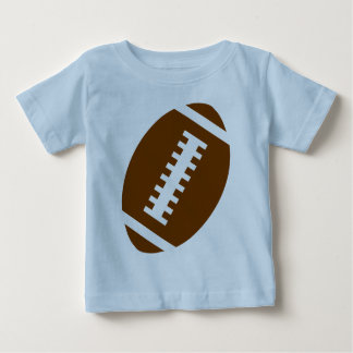 FOOTBALL BABY Light Blue   Front Football Graphic T Shirt