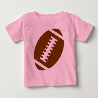 FOOTBALL BABY Pink   Front Football Graphic Tshirts