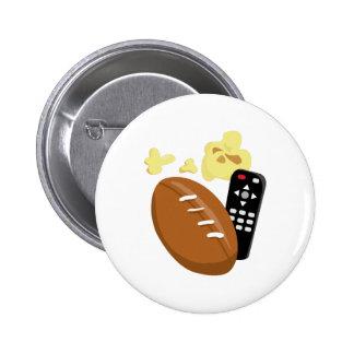 Football 6 Cm Round Badge