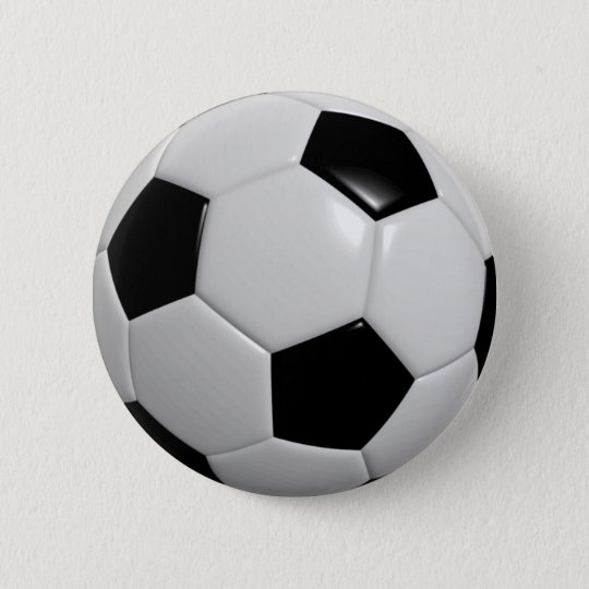 Football Ball Pin / Button Badge