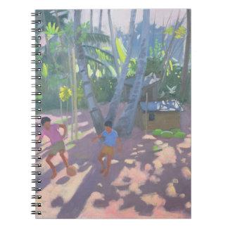 Football Bentota Sri Lanka 1998 Spiral Note Book