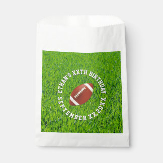 Football Birthday Party Favour Bags