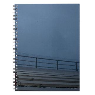 Football bleachers notebook