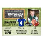 Football Blitz Kids' Birthday Party Invitation