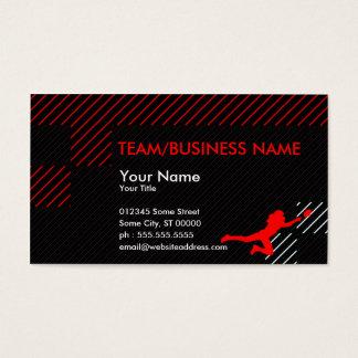 football blocks business card