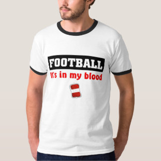 Football Blood T-shirts