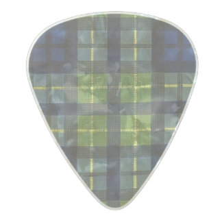 Football Blue Green Vintage Team Colors Pearl Celluloid Guitar Pick