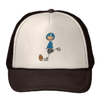 Football Blue Jersey Hat