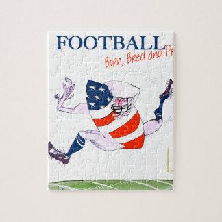 Football born bred proud, tony fernandes jigsaw puzzle
