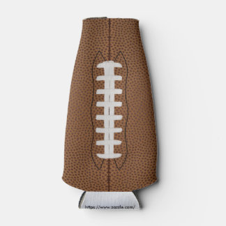 Football bottle cooler