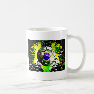 football Brazil Coffee Mug