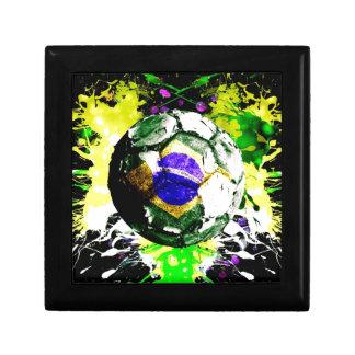 football Brazil Gift Box