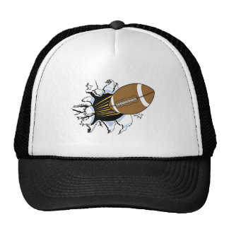 Football Burst T-shirts and Gifts Cap