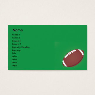 Football - Business Business Card