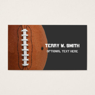 Football Business Card