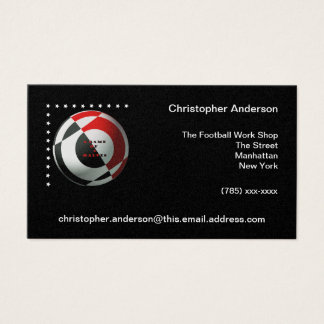 Football Business Cards
