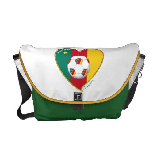 "Football ""CAMEROON"" Soccer Team Soccer of Cameroun Courier Bag"