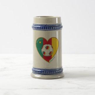 "Football ""CAMEROON"" Soccer Team Soccer of Cameroun Mugs"