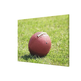 Football Gallery Wrap Canvas
