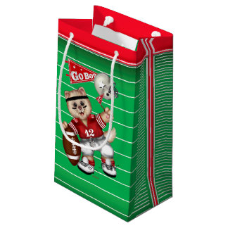 FOOTBALL CAT 5 Gift Bag -  SMALL