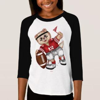 FOOTBALL CAT Girls' American shirt