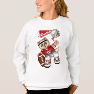 FOOTBALL CAT Girls' H ComfortBlend® Sweatshirt 11