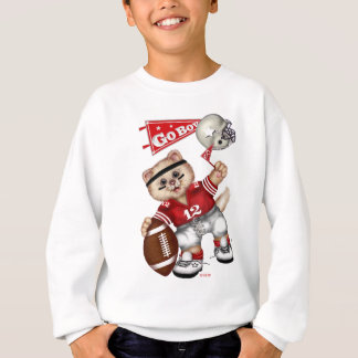 FOOTBALL CAT Kids' Hanes ComfortBlend® Sweatshirt