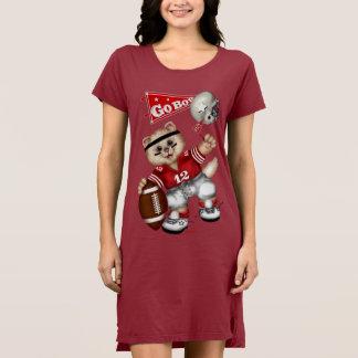 FOOTBALL CAT  Women's Alternative Apparel T-Shirt