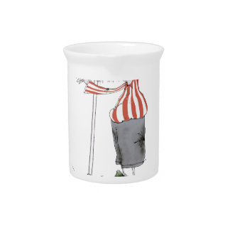 football centre forward red white stripes pitcher