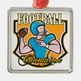 Football Champion Christmas Ornament