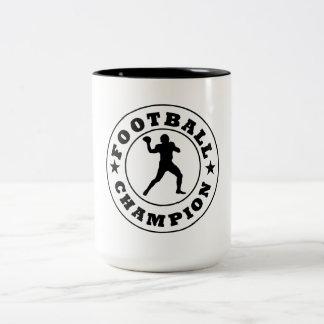 Football Champion Mugs