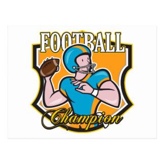 Football Champion Postcard