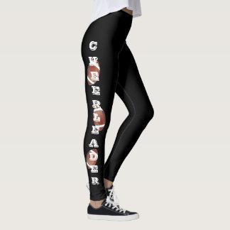 Football Cheerleader Design - DIY Color Leggings
