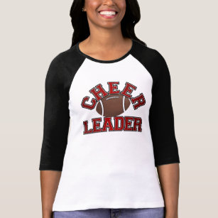 Football Cheerleader T-Shirt