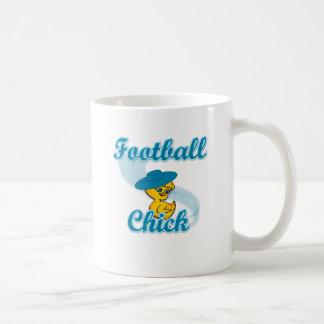 Football  Chick #3 Mugs