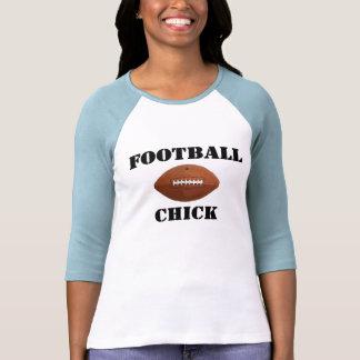 Football Chick T Shirts