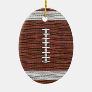 Football Christmas Ornament
