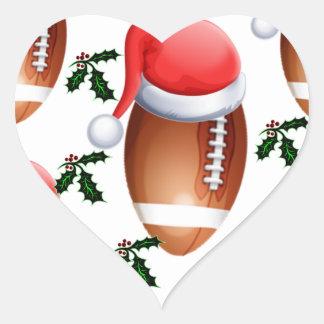 FOOTBALL CHRISTMAS STICKERS