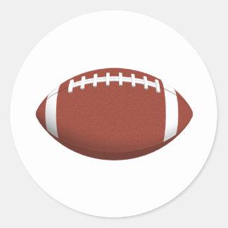 Football! Classic Round Sticker
