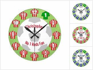 Football Clocks & Watches
